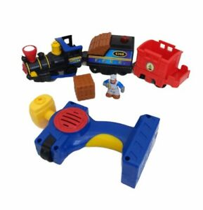 2006 GEOTRAX Fisher Price Train with Remote & Figure - Tested Works Great