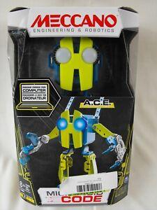 Meccano Erector Micronoid Code A.C.E Programmable Robot Building Kit -NEW IN BOX