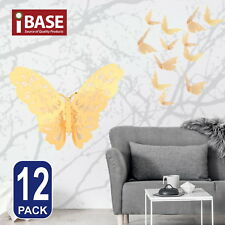 3d Butterfly DIY Wall Decal Removable Sticker Wedding Nursery Home Decor Gold a