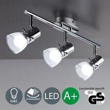 LED Decken-Leuchte Glas Decken-Lampe Küchen-Strahler Wohnzimmer-Spots schwenkbar
