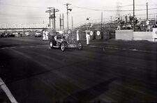 'Genuine Ford Parts' Fuel Altered Dragster - Vintage Drag Racing Negative