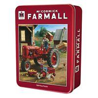 Mccormick Farmall Amis 1000 Pièce Puzzle en Étain 680mm x 490mm ( Mpc )