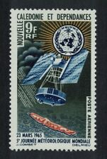 New Caledonia World Meteorological Day Space 1v MNH SG#394