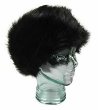 Ladies Luxury Headband Super Soft Plush Faux Fur 14cm* Extra Wide Headband.