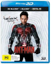 Ant-Man (Paul Rudd) 2D + 3D Blu-ray Region B Brand New!