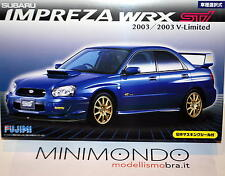 KIT SUBARU IMPREZA WRX STI 2003 V-LIMITED 1/24 FUJIMI 03940 ID103