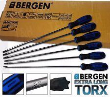 BERGEN Magnetic TORX S2 Screwdriver Set Star Set T10-T30 Torx Drive
