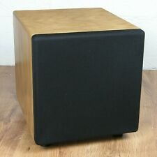 "BK Electronics XLS200-FF MK2 Subwoofer. Light Oak  (Grade ""B"")"