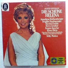 Offenbach DIE SCHONE HELENA Willy Mattes 2LP SEALED Classical   Cla113