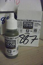 modello Hobby Pittura 17ml BOTTIGLIA val887 AV Vallejo Color - marrone viola