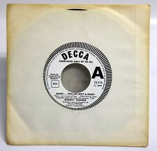 "RONNY TEMMER Hush Pas un mot à Mary 45T 7"" PROMO DECCA DEMO NOT FOR SALE RARE"