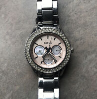 Stella Multi-function Stainless Steel Watch Women's Fossil Watch ES2860 Bin G