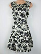 BNWT Joe Browns Roxy Gold Jacquard Prom Party Dress Size 10