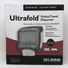 San Jamar Classic Ultrafold Multi & C Fold Towel DispenserBlack (SJMT1750TBKRD)!