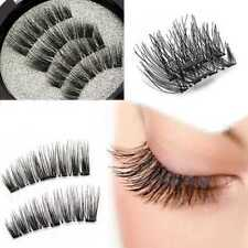 4* Magnetic Eyelashes 3D Handmade Mink Reusable False Magnet Eye Lashes