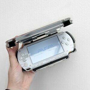 White Sony Playstation PSP Console With Charger And Memory Card Games 16GB