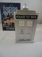 Dr Who Titan Mini Figures 11 Doctors series Silver Tardis Ultra-rare Chase