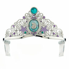 Disney Store Little Mermaid Deluxe Princess Ariel Tiara Dress Up Costume Crown