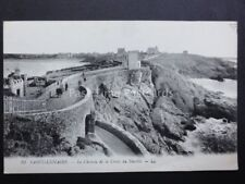 France: SAINT LUNAIRE Le Chemiu de la Croix de Decolle - Old Postcard by Levy LL