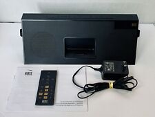 ALTEC LANSING iMT620 Classic Portable iPod FM AUX Dock IN MOTION Tested  Works