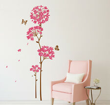 5700050 | Wall Stickers Flowers Pink Dandelion For Living Room
