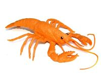 """New Realistic Sea Life Hand Painted Lobster LARGE 6"""" Plastic PVC Toy Figure"""