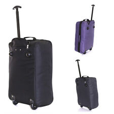 RYAN AIR EASY JET APPROVED LIGHT WEIGHT CABIN BAG WITH WHEELS 55X35X20cms