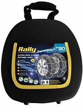 15049 CATENE NEVE RALLY 7mm GRUPPO 080 NUOVE 205/70-13 185/80-14 185/70-15 NUOVE