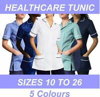 Nurse Tunic Uniform Healthcare Carers Dentist Hospitality Dental NHS Gown Clinic