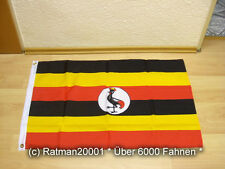 Fahnen Flagge Uganda 60 x 90 cm