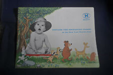 1964 New York Worlds Scotts Explore the Enchanted Forest Brochure