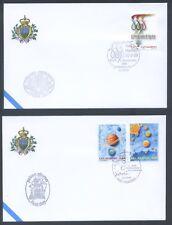San Marino - 2009 - Buste FDC - Primo giorno d'emissione - Annata completa