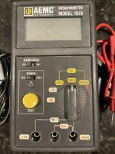 Aemc Megohmmeter 1025 Used