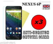 3x HQ CRYSTAL CLEAR SCREEN PROTECTOR COVER FILM GUARD FOR HUAWEI GOOGLE NEXUS 6P