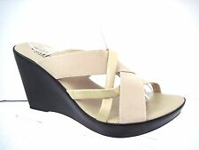 CALLISTO OF CALIFORNIA Nude Strappy Sandals Size 10  NWOB