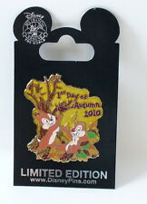 Disney Chip & Dale 1st Day of Autumn 2010 LE Pin