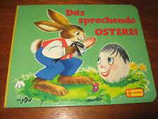 E632)ALTES PAPP-KINDERBUCH DAS SPRECHENDE OSTEREI ELISABETH DIRR PESTALOZZI 1989