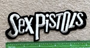 Vintage Sex Pistols Rock Metal Music Embroidered Sew On Patch