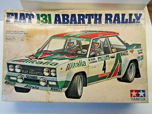 Tamiya Vintage 1:20 Scale Fiat 131 Abarth Rally Alitalia Model Kit # 2013**1500