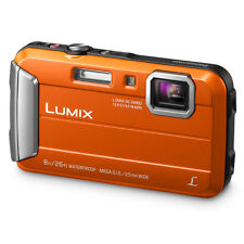 PANASONIC DMC-FT30 orange rigide étanche caméra