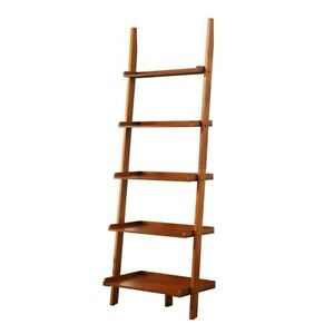 Convenience Concepts American Heritage Bookshelf Ladder, Cherry - 8043391