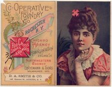 Rochester, NY, RED CROSS STOVES & RANGES Trade Card, A Victorian Woman