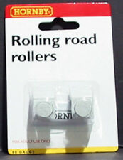 HORNBY  R8212 - ROLLING ROAD EXTRA ROLLERS (PACK OF 2) - 00 GAUGE -NEW CARDED