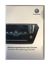 VW AppConnect Genuine Activation Document 5G0054830A