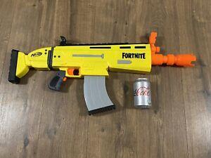 Nerf Gun Fortnite AR-L Motorised Nerf Elite Dart Blaster -