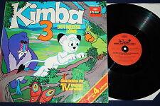 Osamu TEZUKA-KIMBA, delle tracce bianche Leone 3, Vinile, LP, d'77, VG