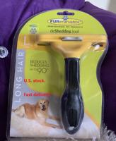 Furminator DeShedding Tool Large Dog / LONG Hair - Brand New & FREE SHIPPING