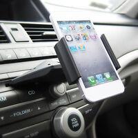 New 360°Universal Car CD Slot Mobile Phone GPS Sat Nav Stand Holder Mount New.