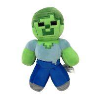 "Mojang Minecraft Zombie 7"" Stuffed Soft Toy Plush 2014 Gaming Gamer"