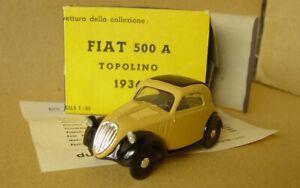 DUGU Nr.8 Fiat 500 A Topolino 1936 1:43 MINT IN ORIGINAL BOX non giocata